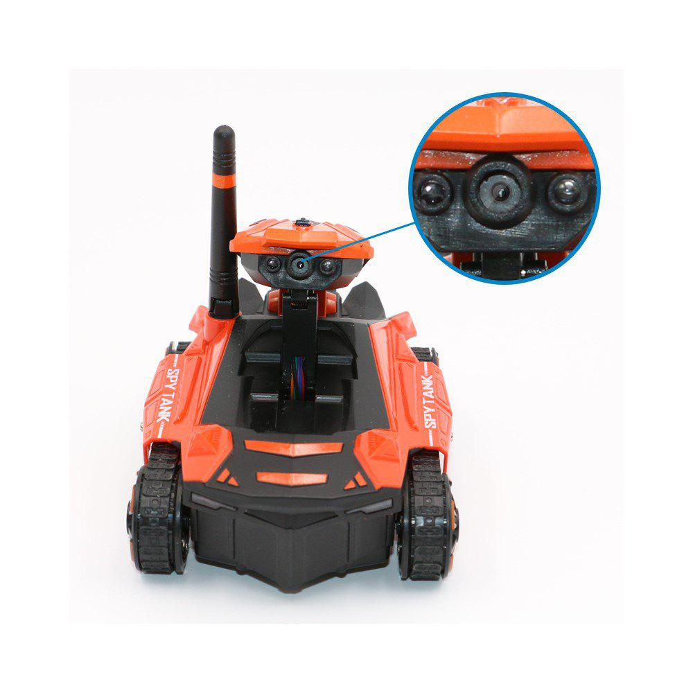 Parrokmon YD211 WiFi  Car with Camera FPV Tank - ORANGE