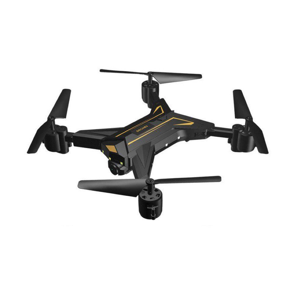 Parrokmon KY601 Foldable Drone with WiFi FPV Camera - BLACK