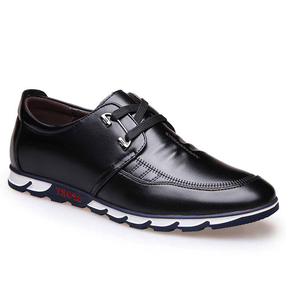 Flat Sole Casual Shoes - Black 43 free shipping clearance amazon cheap sale fake cheap marketable discount free shipping zgz2bdE