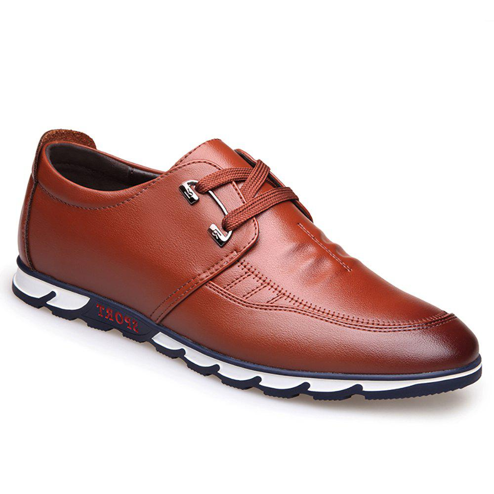 clearance deals outlet locations sale online Sports Leisure Leather Shoes - Brown 40 buy cheap factory outlet buy cheap latest low price cheap price gqT18Yq