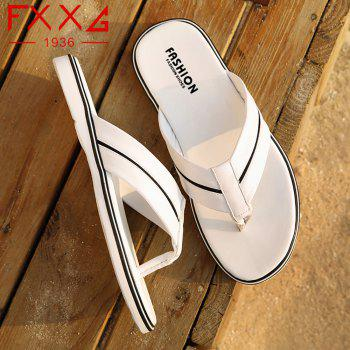 Fashionable and Cool Slippers - WHITE 43