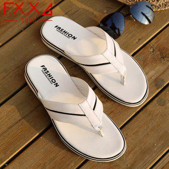 Fashionable and Cool Slippers - WHITE 39