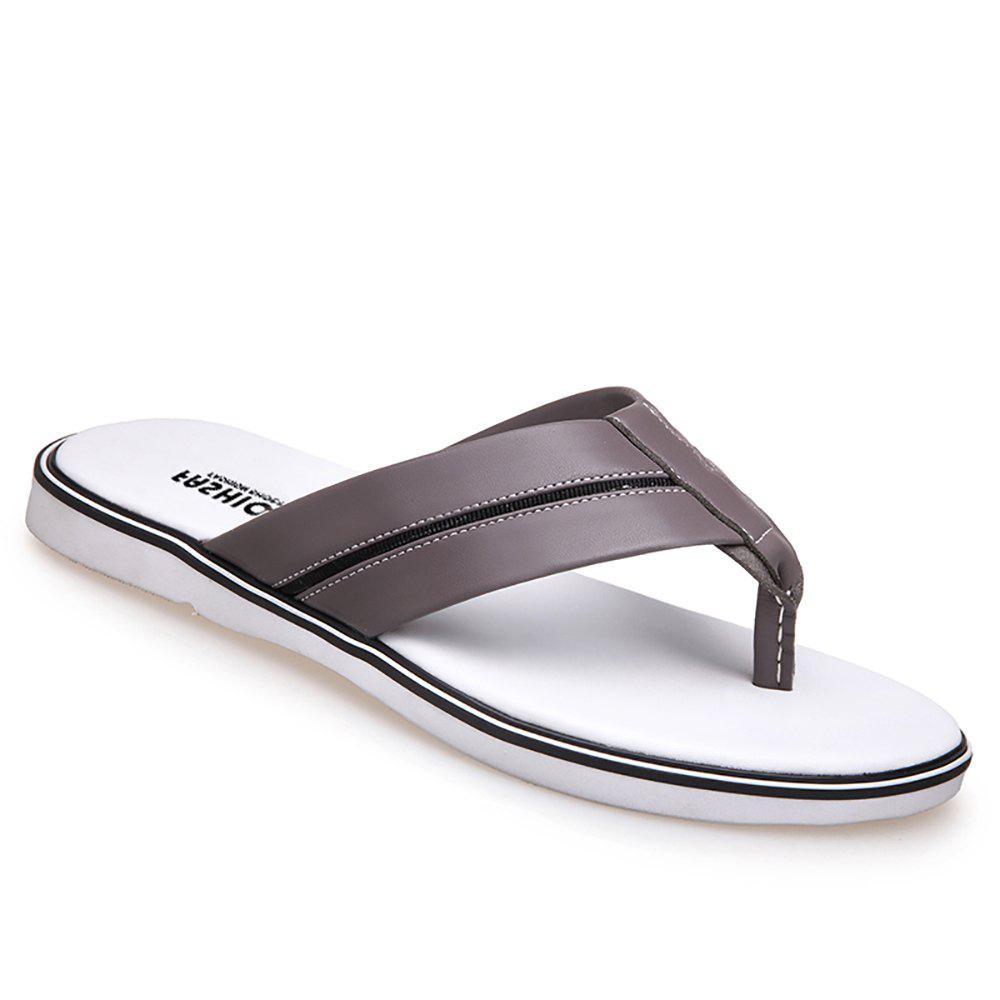 Fashionable and Cool Slippers - GRAY 39