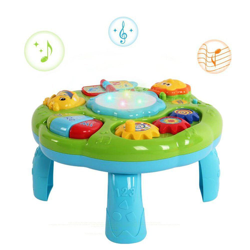 Table d'apprentissage musical - GREEN