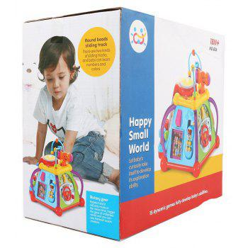 Musical Cube Play Learn Educational Toy - COLOUR