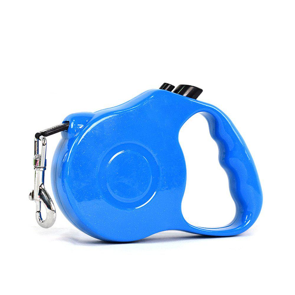 Retractable Dog Leash 5 M Dog Walking Leash for Medium Large Dogs Up To 60LBS Tangle Free One Button Break - BLUE