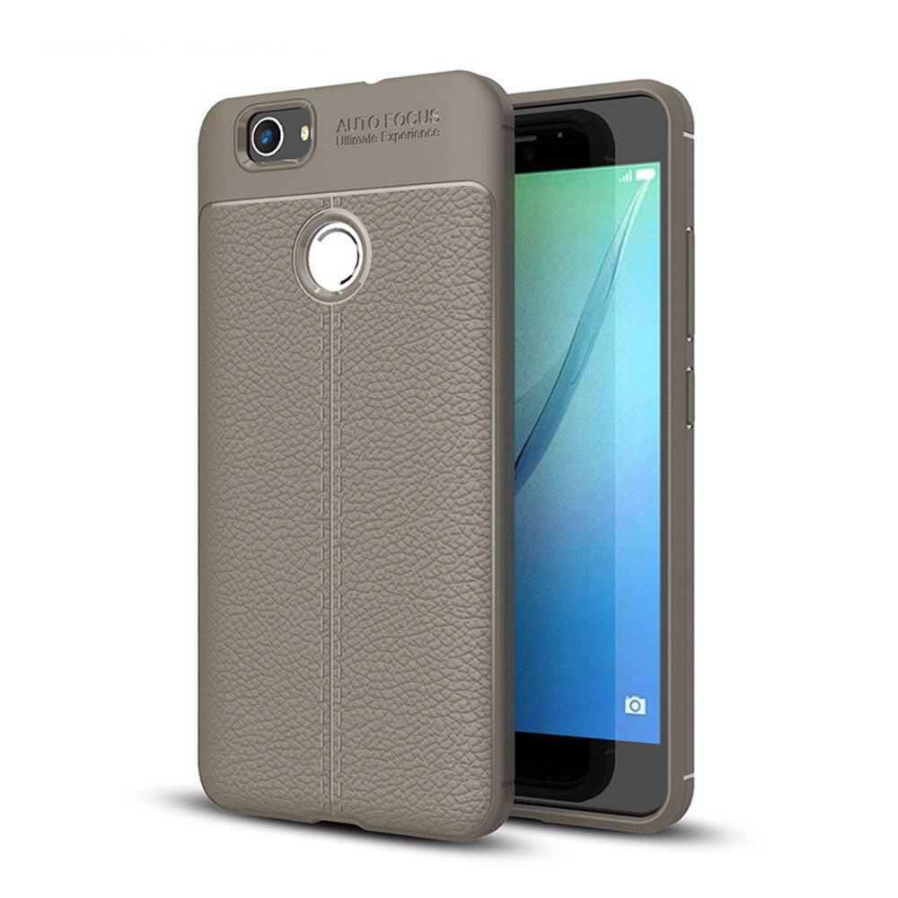 Case for Huawei Nova Shockproof Back Cover Solid Color Soft TPU - GRAY