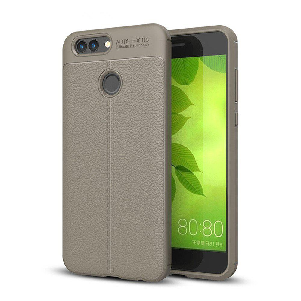 Case for Huawei Nova2 Shockproof Back Cover Solid Color Soft TPU - GRAY
