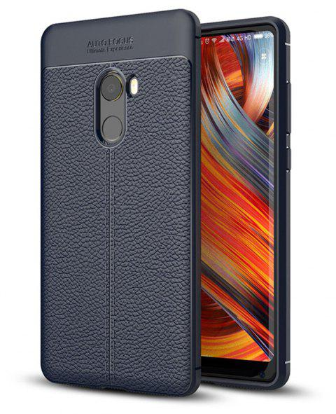 Case for Xiaomi Mix2 Shockproof Back Cover Solid Color Soft TPU - CERULEAN