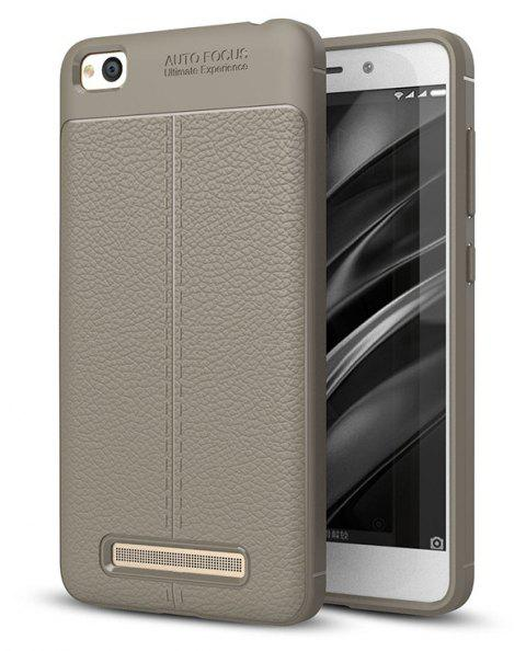 Case for Redmi 4A Shockproof Back Cover Solid Color Soft TPU - GRAY
