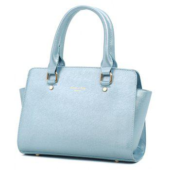 Three-piece Simple Fashion Shoulder Messenger Bag Handbag - LIGHT BLUE