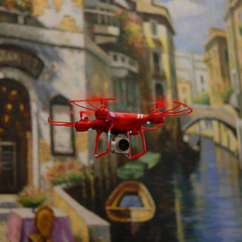 Gyro WiFi Quadcopter HD Camera RC Drone Aerial Photography Helicopter - RED