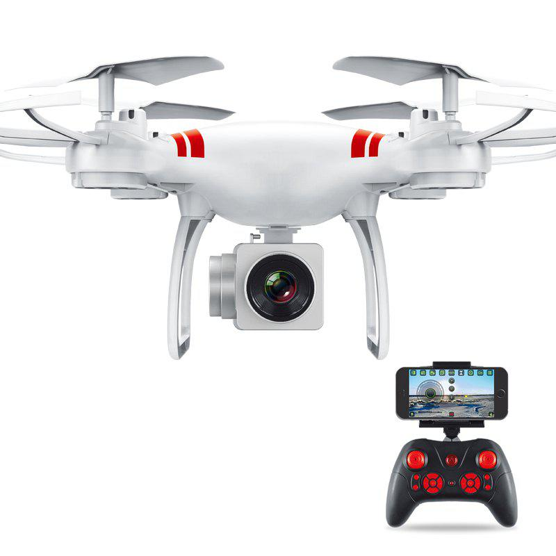 Gyro WiFi Quadcopter HD Camera RC Drone Aerial Photography Helicopter - WHITE