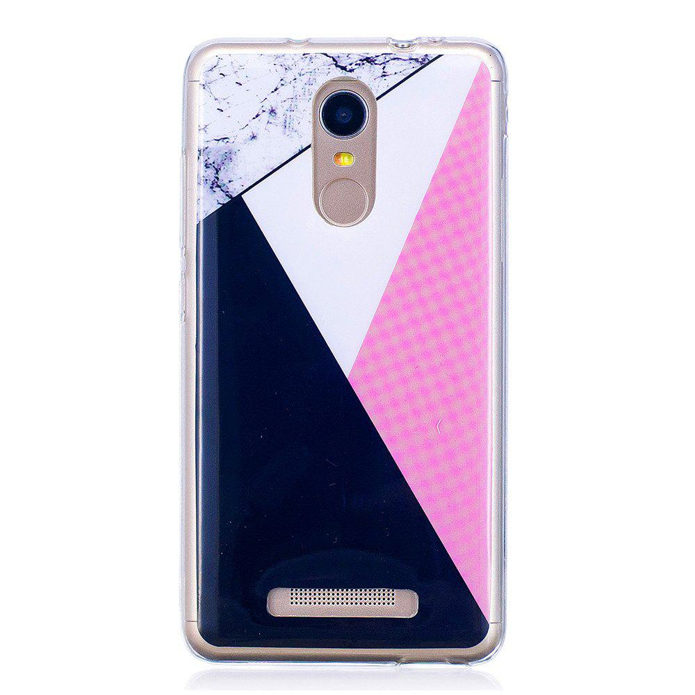 Babu Marbling Phone Case for Xiaomi Redmi Note 3 Trend Fashion Soft Silicone TPU Protection Cover Cases - GRAY