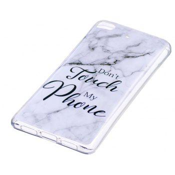 Marbling Phone Case For Xiaomi 5S / Mi 5S Trend Fashion Soft Silicone TPU Cover Cases Protection Phone Bag - GRAY/BLUE