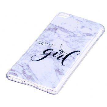 Marbling Phone Case For Xiaomi 5S / Mi 5S Trend Fashion Soft Silicone TPU Cover Cases Protection Phone Bag - GRAY A STYLE SIZE L