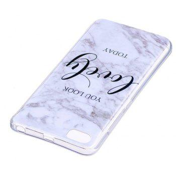 Marbling Phone Case For Xiaomi 5S / Mi 5S Trend Fashion Soft Silicone TPU Cover Cases Protection Phone Bag - GRAY A STYLE SIZE S