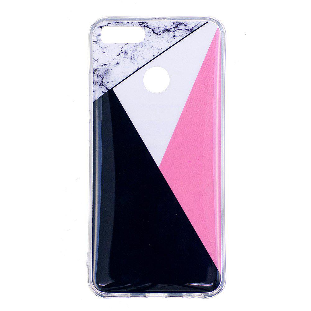Marbling Phone Case For Xiaomi 5X / Mi 5X Trend Fashion Soft Silicone TPU Cover Cases Protection Phone Bag - BLACK A