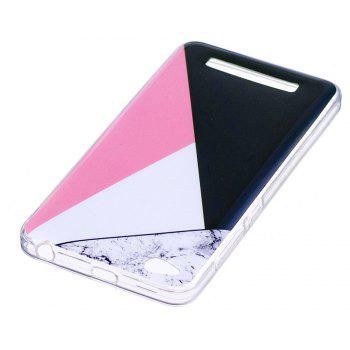 Marbling Phone Case For Xiaomi Redmi 4A Trend Fashion Soft Silicone TPU Cover Cases Protection Phone Bag - BLACK A