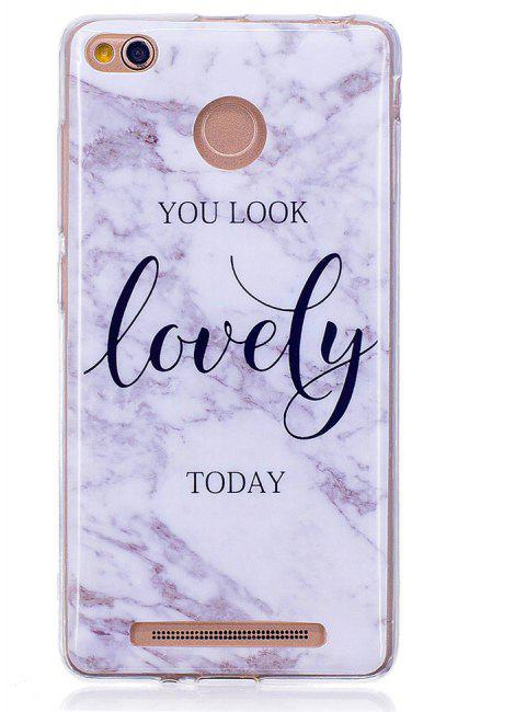 Marbling Phone Case For Xiaomi Redmi 3S / Redmi 3 Pro Case Fashion Soft Silicone TPU Cover Cases Protection Phone Bag - CHROME