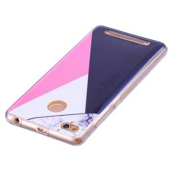 Marbling Phone Case For Xiaomi Redmi 3S / Redmi 3 Pro Case Fashion Soft Silicone TPU Cover Cases Protection Phone Bag - BLACK A