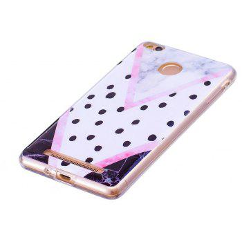 Marbling Phone Case For Xiaomi Redmi 3S / Redmi 3 Pro Case Fashion Soft Silicone TPU Cover Cases Protection Phone Bag - BLACK B