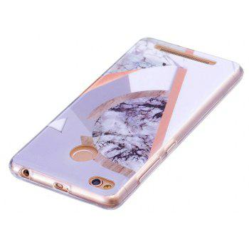 Marbling Phone Case For Xiaomi Redmi 3S / Redmi 3 Pro Case Fashion Soft Silicone TPU Cover Cases Protection Phone Bag - GRAY