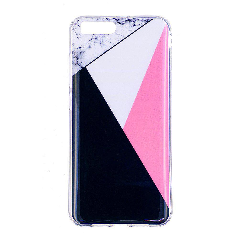 Marbling Phone Case For Xiaomi 6 / Mi 6 Trend Fashion Soft Silicone TPU Cover Cases Protection Phone Bag - BLACK A