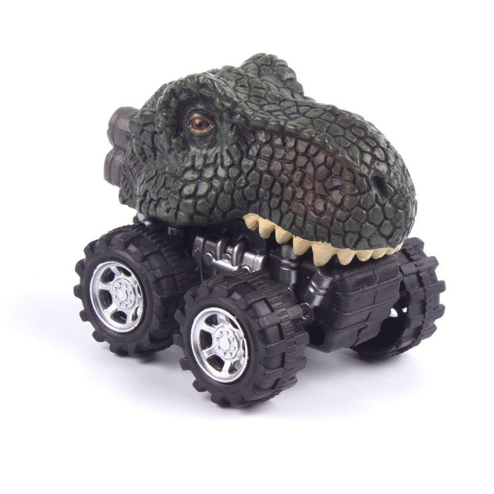 Dinosaur Model Mini Toy Gift for Children C - DEEP GREEN