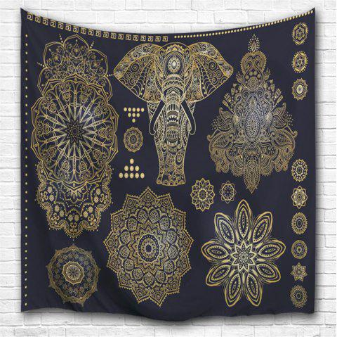 3D Digital Printing Home Wall Hanging Nature Art Fabric Tapestry for Bedroom Decorations - COLORMIX W153CMXL130CM