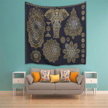 3D Digital Printing Home Wall Hanging Nature Art Fabric Tapestry for Bedroom Decorations - COLORMIX W230CMXL180CM