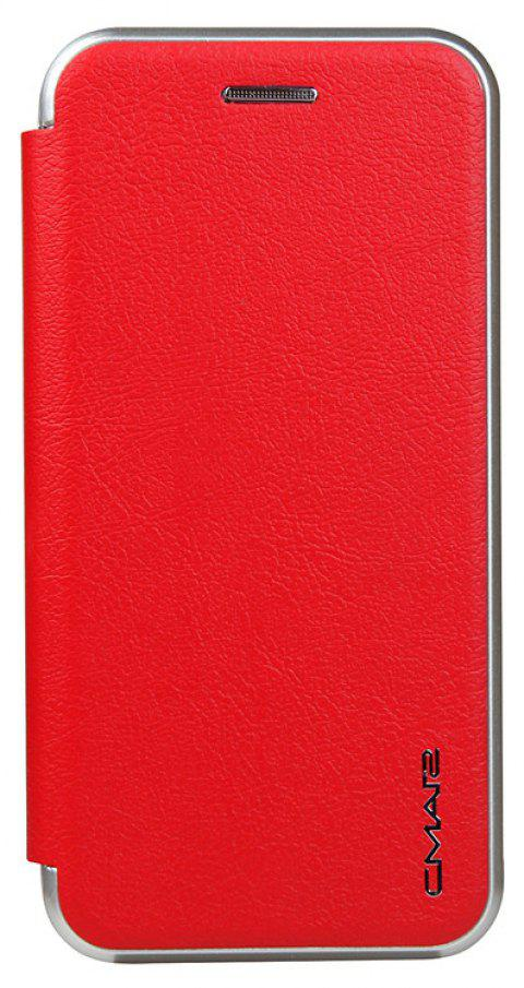 Clamshell Bracket Holster Case for IPhone 7 - RED