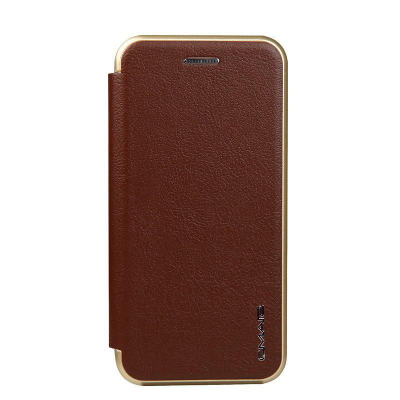 Clamshell Bracket Holster Case for IPhone 7 - BROWN