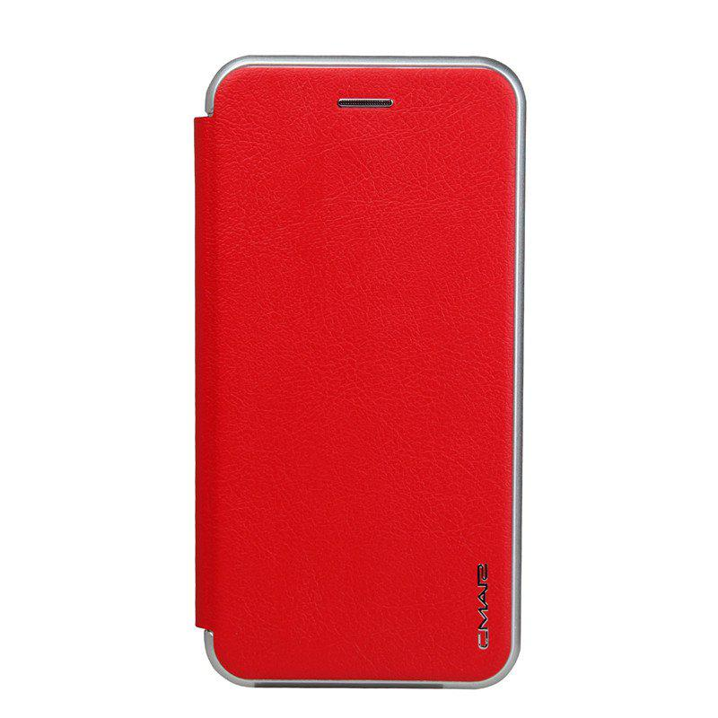 Clamshell Bracket Holster Case for iPhone 8 Plus - RED