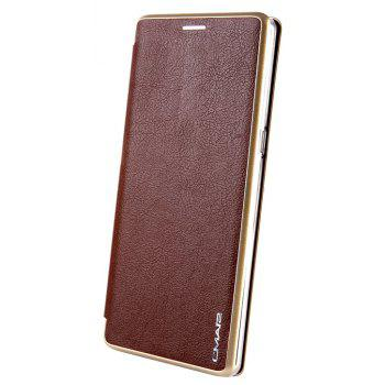 Clamshell Bracket Holster Case for Samsung Note8 - BROWN