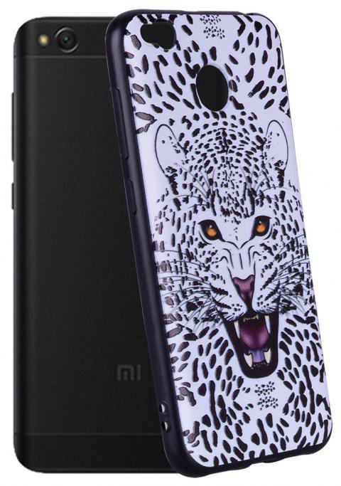 Case For Xiaomi Redmi 4X TPU Mobile Phone Protection Shell - WHITE