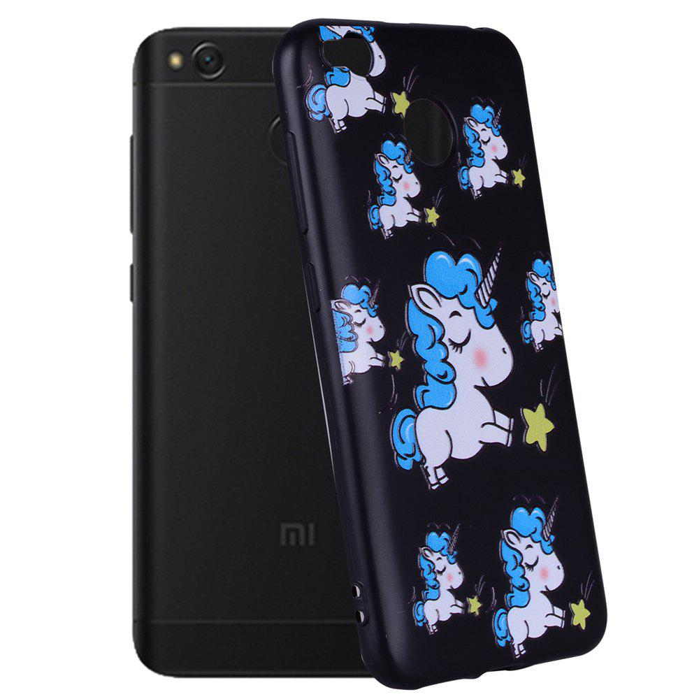 Case For Xiaomi Redmi 4X TPU Mobile Phone Protection Shell - BLUE
