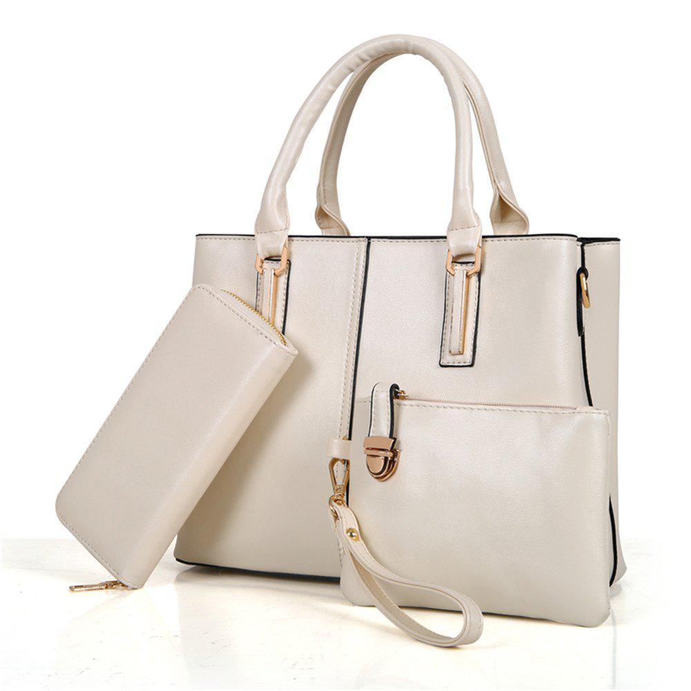 Shoulder Messenger Handbags Ladies Fashion Bag - OFF WHITE