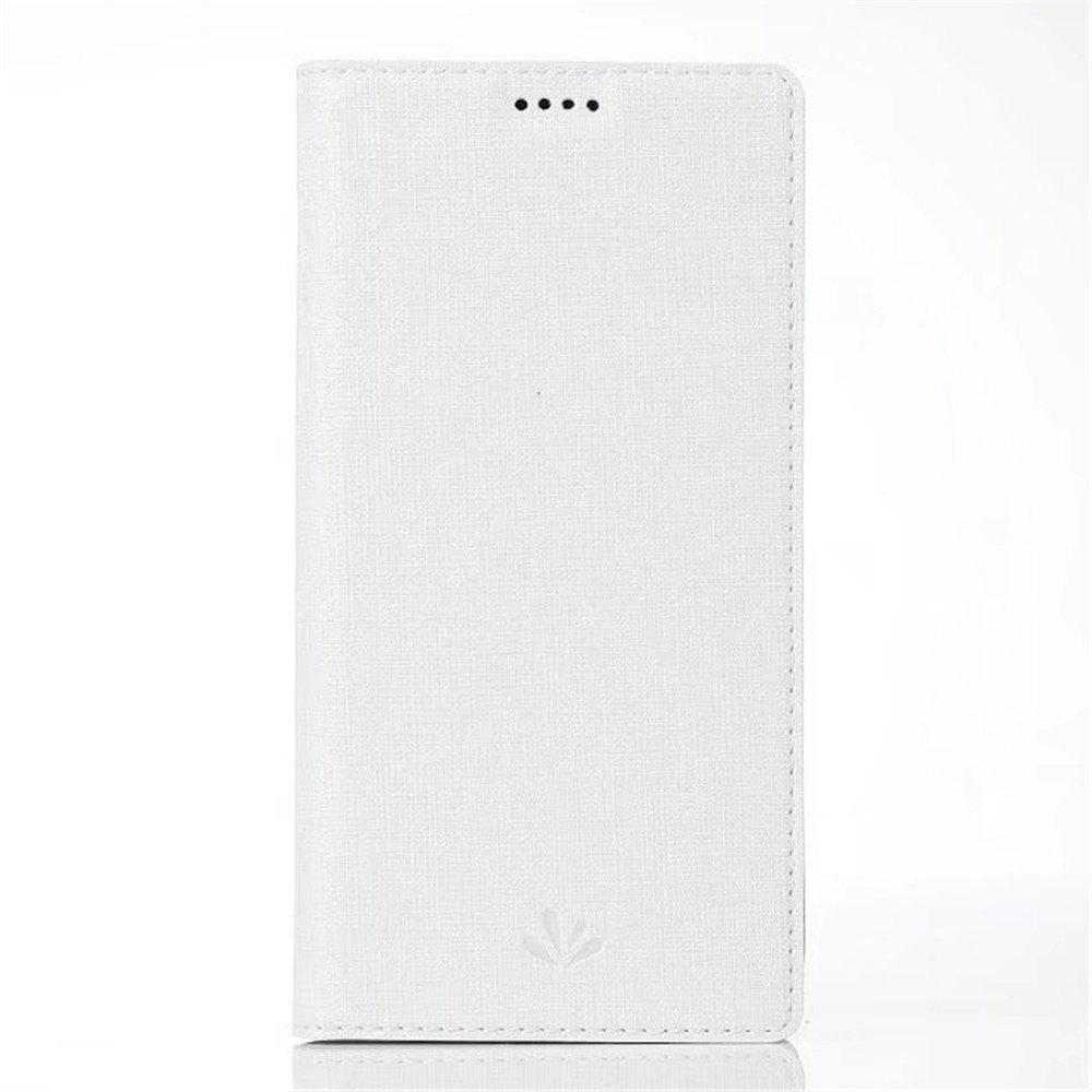 for SONY Xperia XZ1 Compact Smart Wakes Up Dormant Full Pack to Protect Leather Cover Cartridge Shell - WHITE