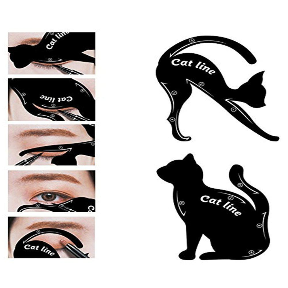 Eyeliner Stencil Set Eye Makeup Template Multifunction Tools 1pcs lge35230 bga stencil template