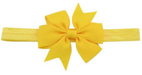 Bébé Hairtail Bow Hairband - Jaune
