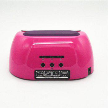 LED Dual-use Nail Light Therapy Lamp - PEACH RED EU PLUG