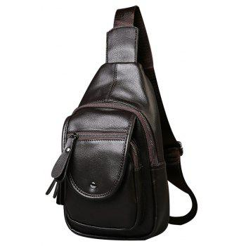 Leather Casual Small Unbalance Backpack Fashion Korean