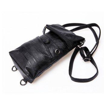 Sling Bag Fashion Soft Unbalance Backpack Crossbody