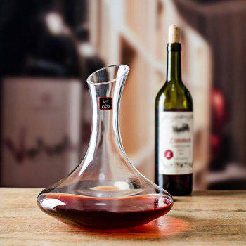 RCOMS1950 Crystal Wine Decanter 750ml Hand Blown Lead-Free glass Perfect for Any Occasion Great Gift - TRANSPARENT