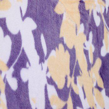 Cotton Soft Printing Beach Towel - PURPLE