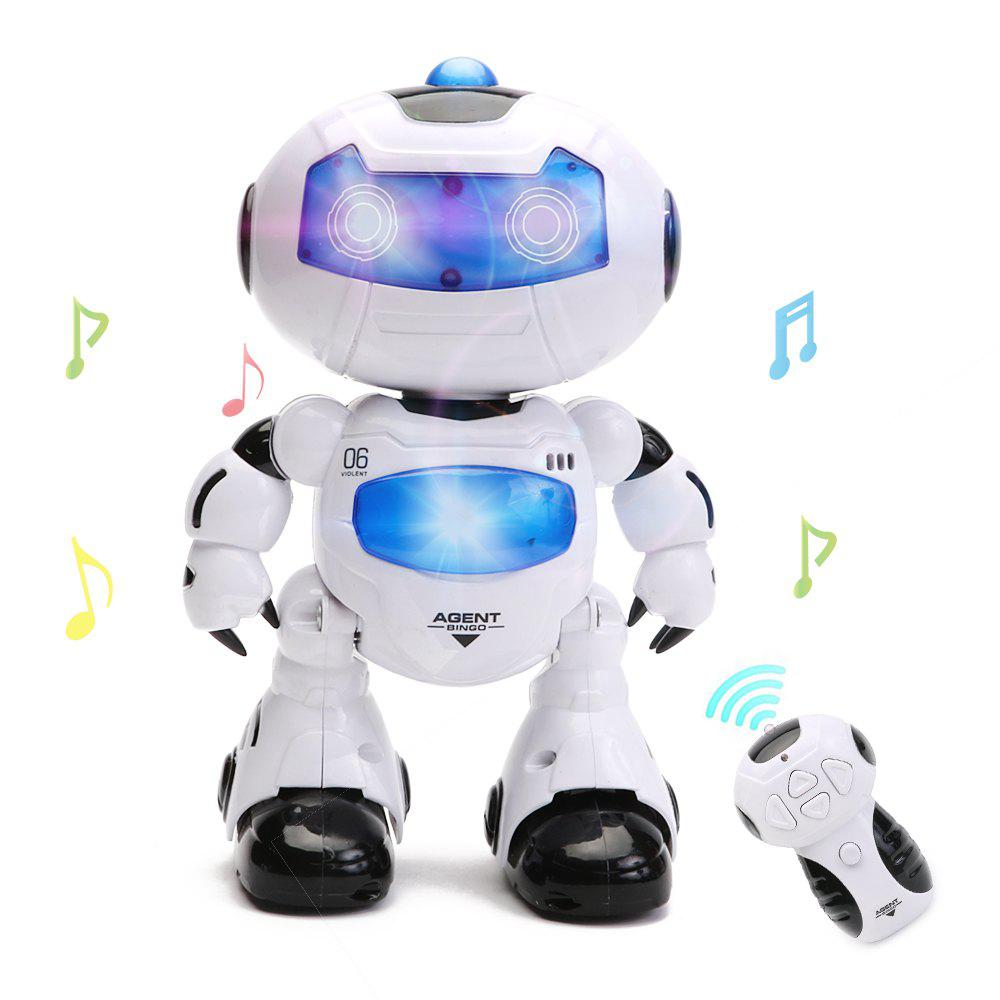 Electronic RC Robot Learning Toy - WHITE