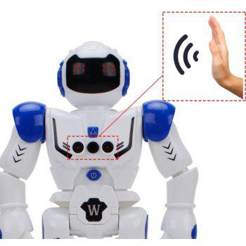 Remote Control Intelligent  Electronic Robot Toy - WHITE