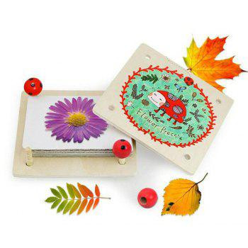 Flower and Leaf Press Nature Crafts - COLORFUL