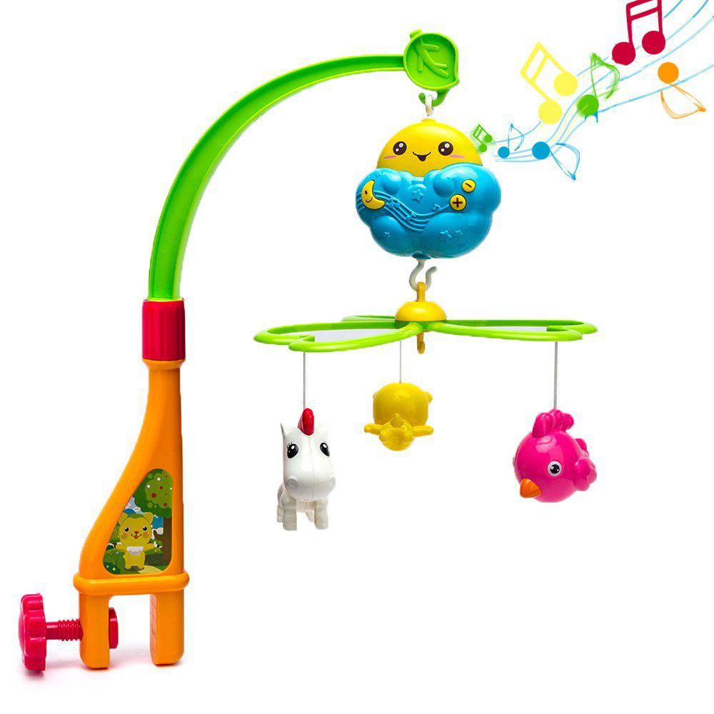 Baby Crib Musical Mobile Toy - COLOUR